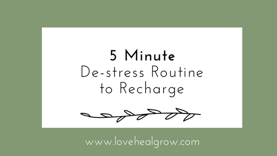 De-stress and relax