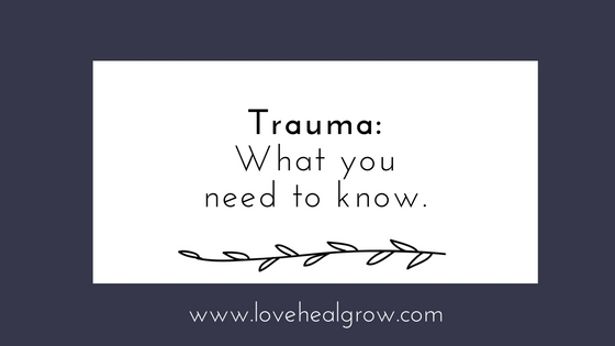 Trauma: What you need to know