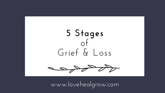 5 stages of grief sacramento
