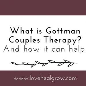 Gottman Therapy Sacramento
