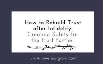 How To Rebuild Trust After Infidelity: Part I