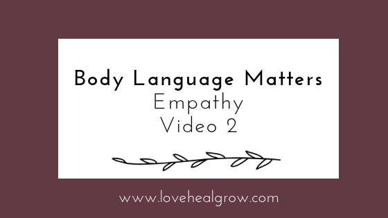 Body Language Matters!